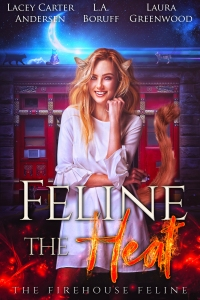 1.Feline the Heat - The Firehouse Feline book 1 v4