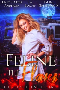 2.Feline the Flames - The Firehouse Feline book 2 v6