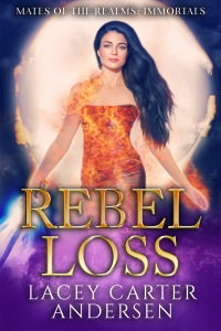 6.Rebel Loss by Lacey Carter Andersen (one series)